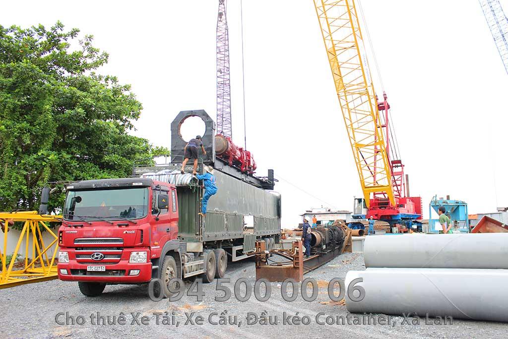 (Ảnh: vận chuyển hàng hóa bắc nam, cty Con Rùa Biển nhận vận chuyển Búa Đóng Cọc Thủy Lực từ HCM đi Nghệ An)