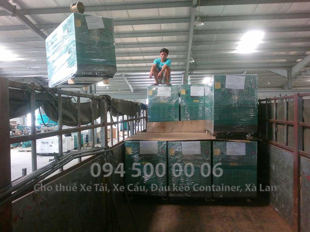 (Ảnh: vận chuyển hàng hóa bắc nam, cty Con Rùa Biển nhận vận chuyển Máy Phát Điện từ Bình Dương đi Bắc Ninh)