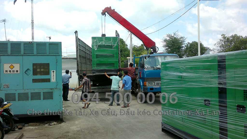 (Ảnh: vận chuyển hàng hóa bắc nam, cty Con Rùa Biển nhận vận chuyển Máy phát điện từ Long An đi Hưng Yên)