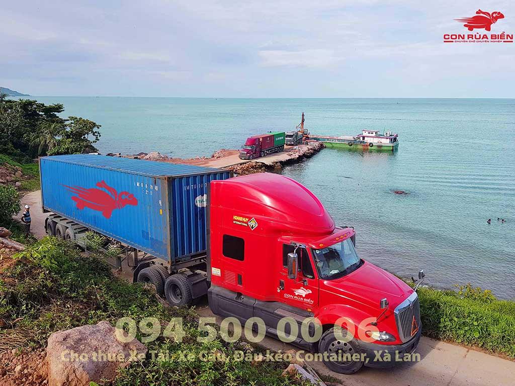 nh bìa Dự án vận chuyển 5 container thiết bị đi Hòn Thơm