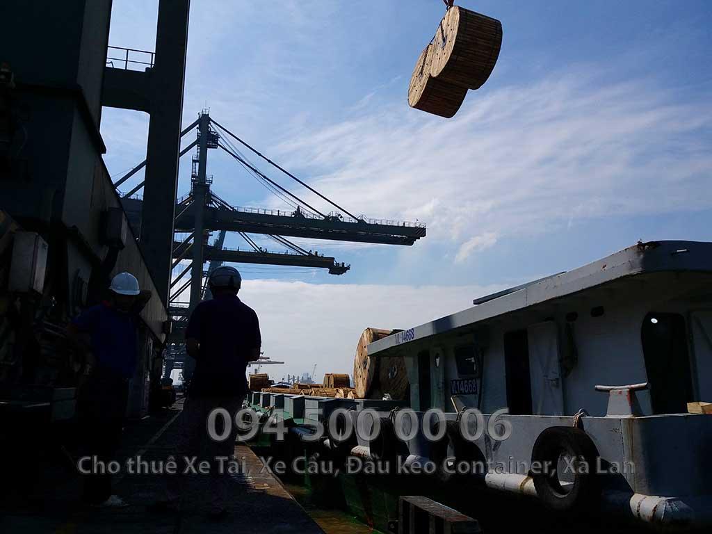 Dự Án vận chuyển cáp điện từ Bắc vào Nam và đi khắp các tỉnh miền tây 18.1