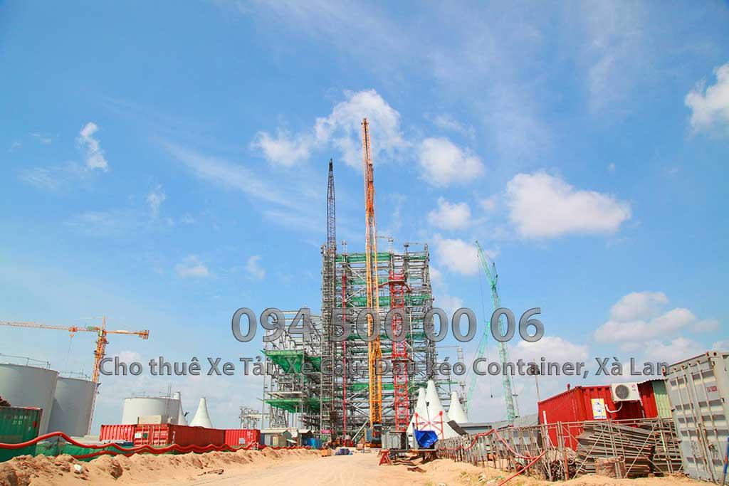Dự án vận chuyển Thiết bị vật tư Công Trình Nhà Máy Nhiệt Điện Nam Sông Hậu Hậu Giang 11