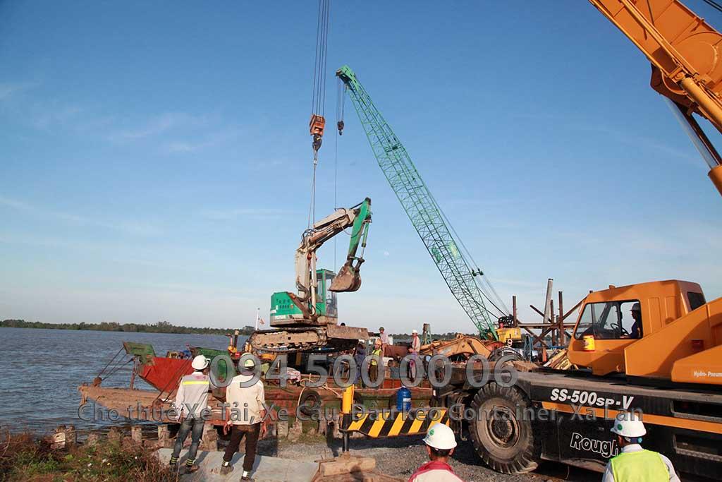 Dự án vận chuyển Thiết bị vật tư Công Trình Nhà Máy Nhiệt Điện Nam Sông Hậu Hậu Giang 12
