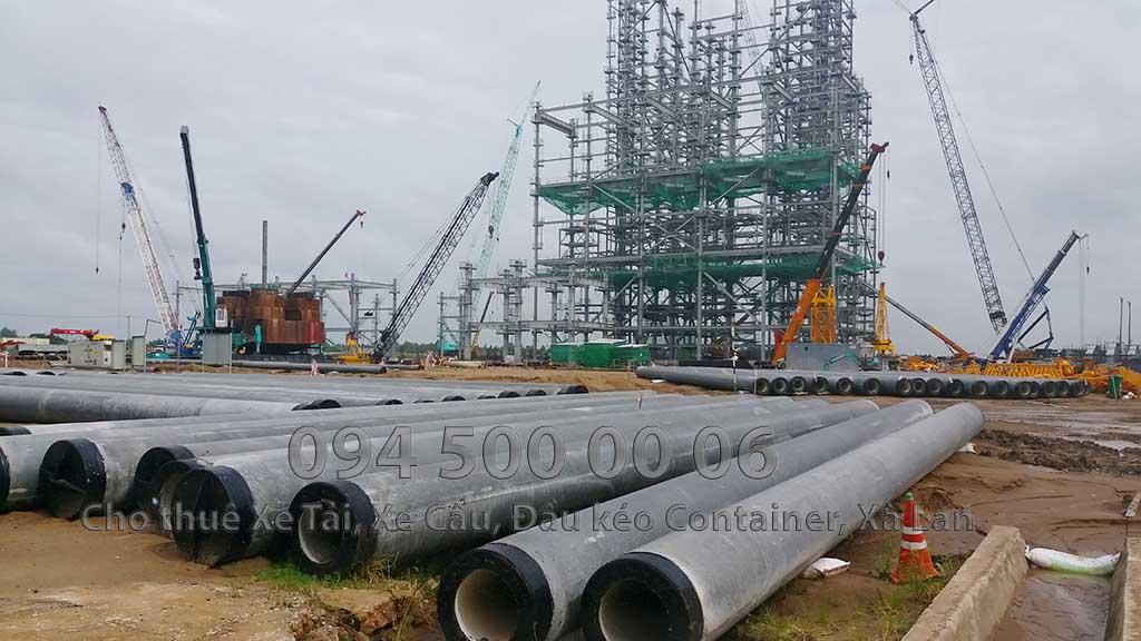 Dự án vận chuyển Thiết bị vật tư Công Trình Nhà Máy Nhiệt Điện Nam Sông Hậu Hậu Giang 13