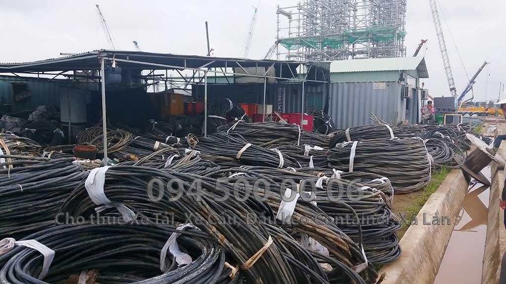 Dự án vận chuyển Thiết bị vật tư Công Trình Nhà Máy Nhiệt Điện Nam Sông Hậu Hậu Giang 14
