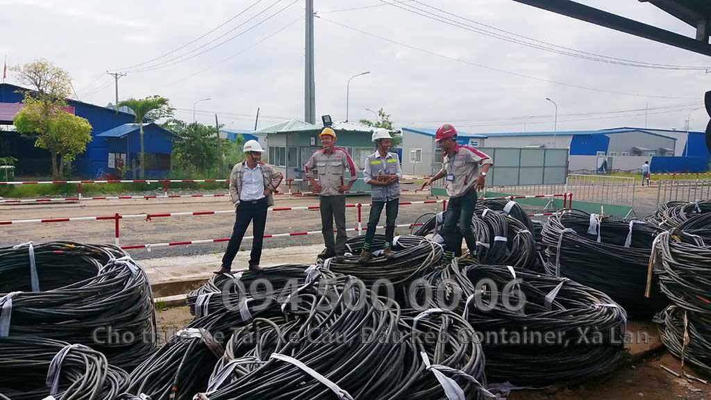 Dự án vận chuyển Thiết bị vật tư Công Trình Nhà Máy Nhiệt Điện Nam Sông Hậu Hậu Giang 15