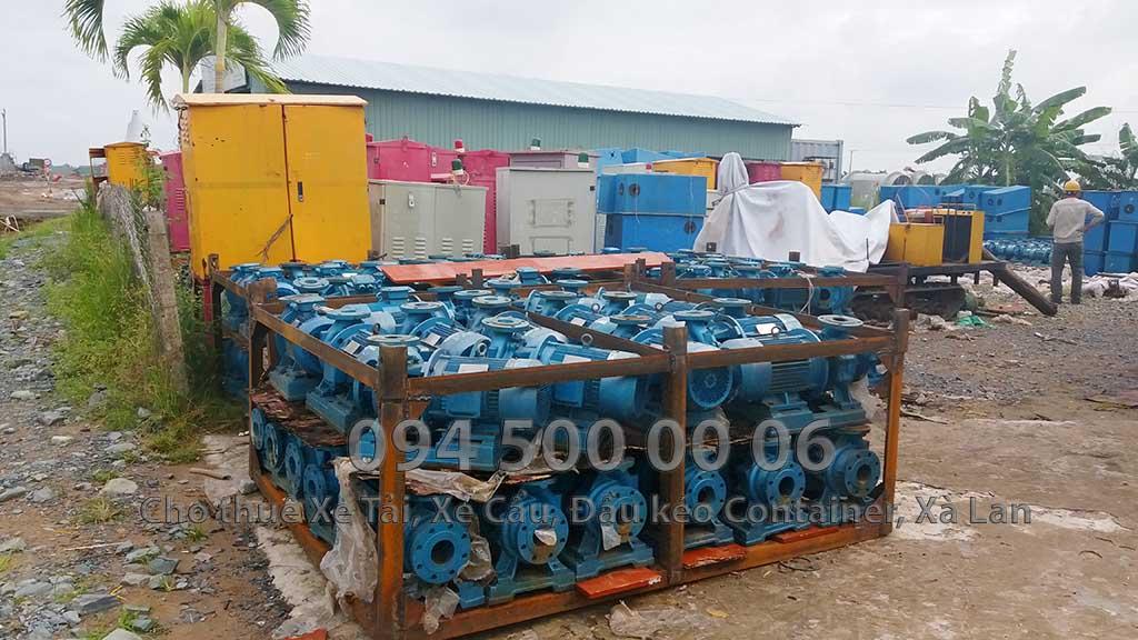 Dự án vận chuyển Thiết bị vật tư Công Trình Nhà Máy Nhiệt Điện Nam Sông Hậu Hậu Giang 16