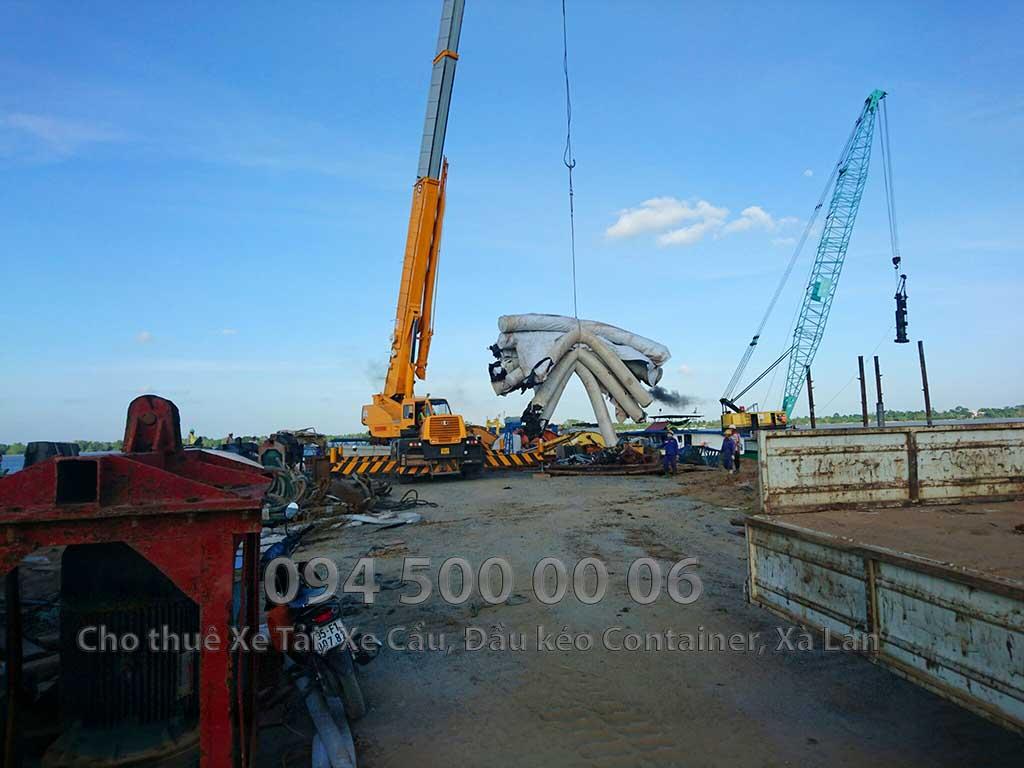 Dự án vận chuyển Thiết bị vật tư Công Trình Nhà Máy Nhiệt Điện Nam Sông Hậu Hậu Giang 2