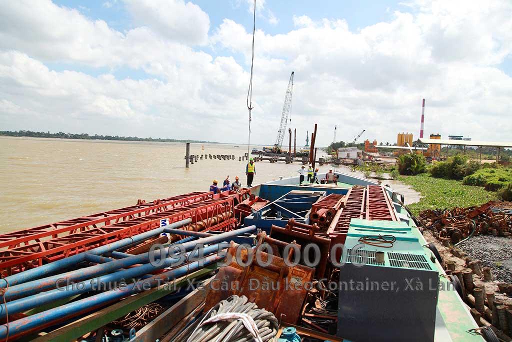 Dự án vận chuyển Thiết bị vật tư Công Trình Nhà Máy Nhiệt Điện Nam Sông Hậu Hậu Giang 4