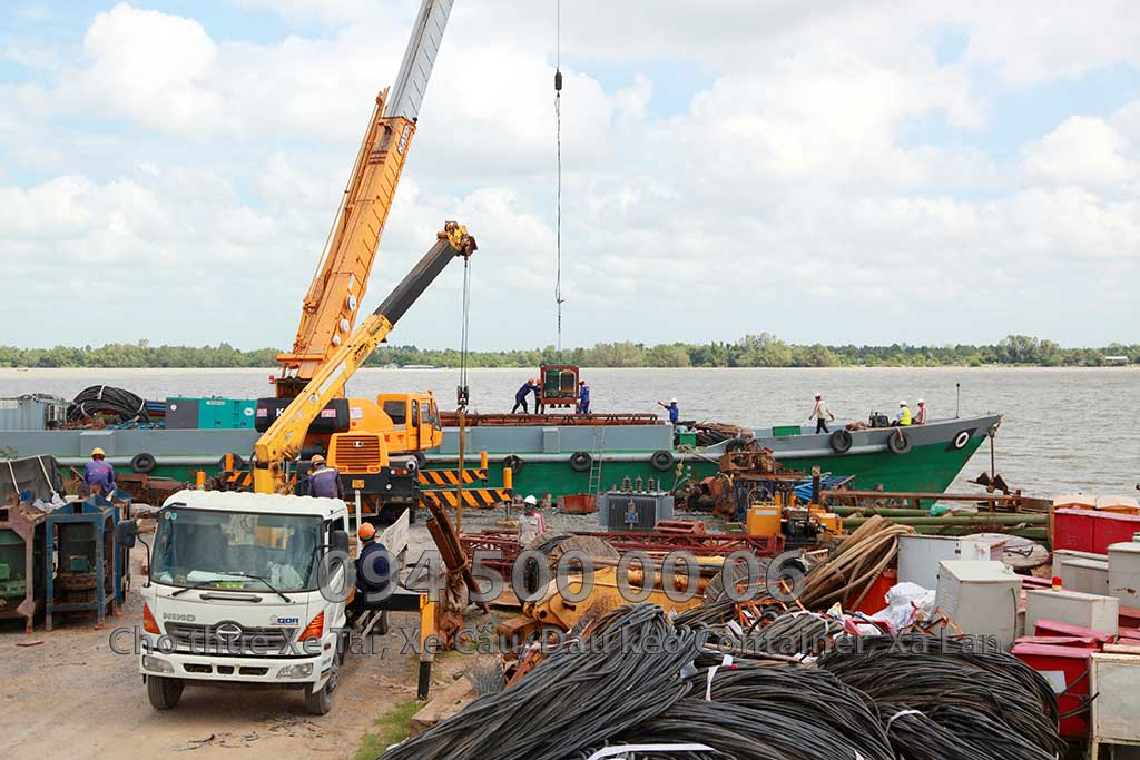 Dự án vận chuyển Thiết bị vật tư Công Trình Nhà Máy Nhiệt Điện Nam Sông Hậu Hậu Giang 6