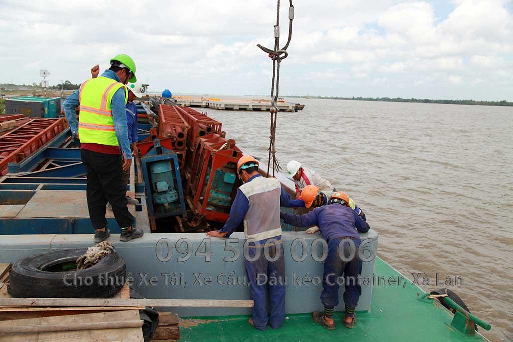 Dự án vận chuyển Thiết bị vật tư Công Trình Nhà Máy Nhiệt Điện Nam Sông Hậu Hậu Giang 7