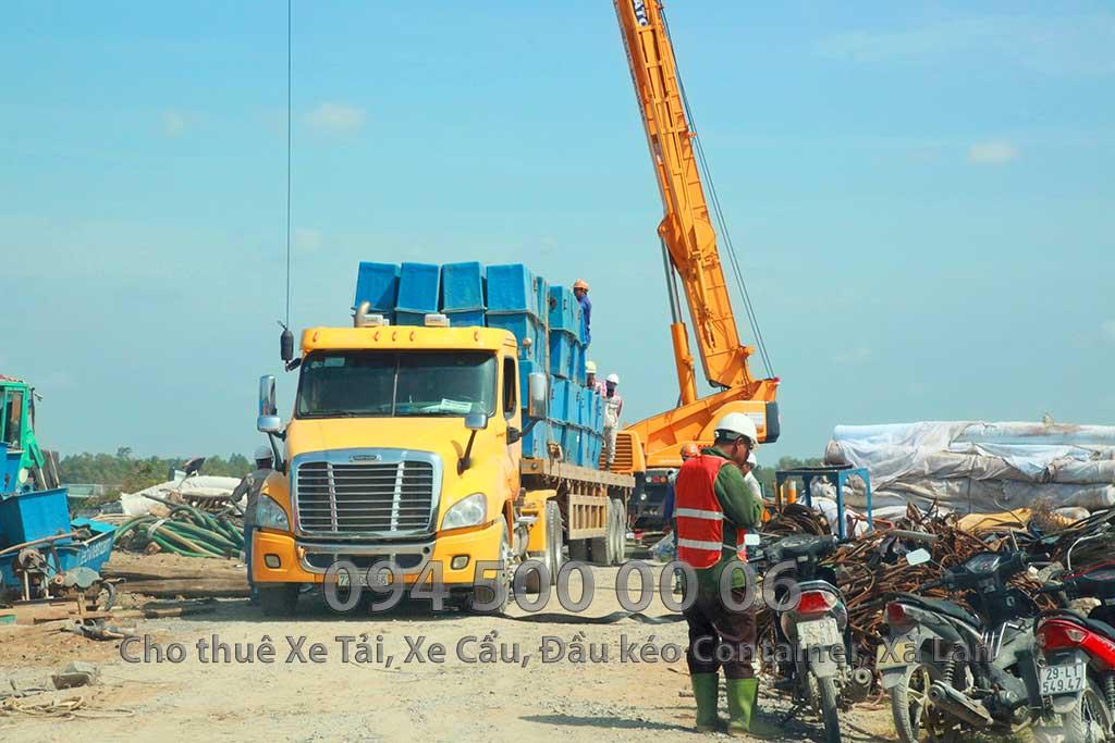 Dự án vận chuyển Thiết bị vật tư Công Trình Nhà Máy Nhiệt Điện Nam Sông Hậu Hậu Giang 8