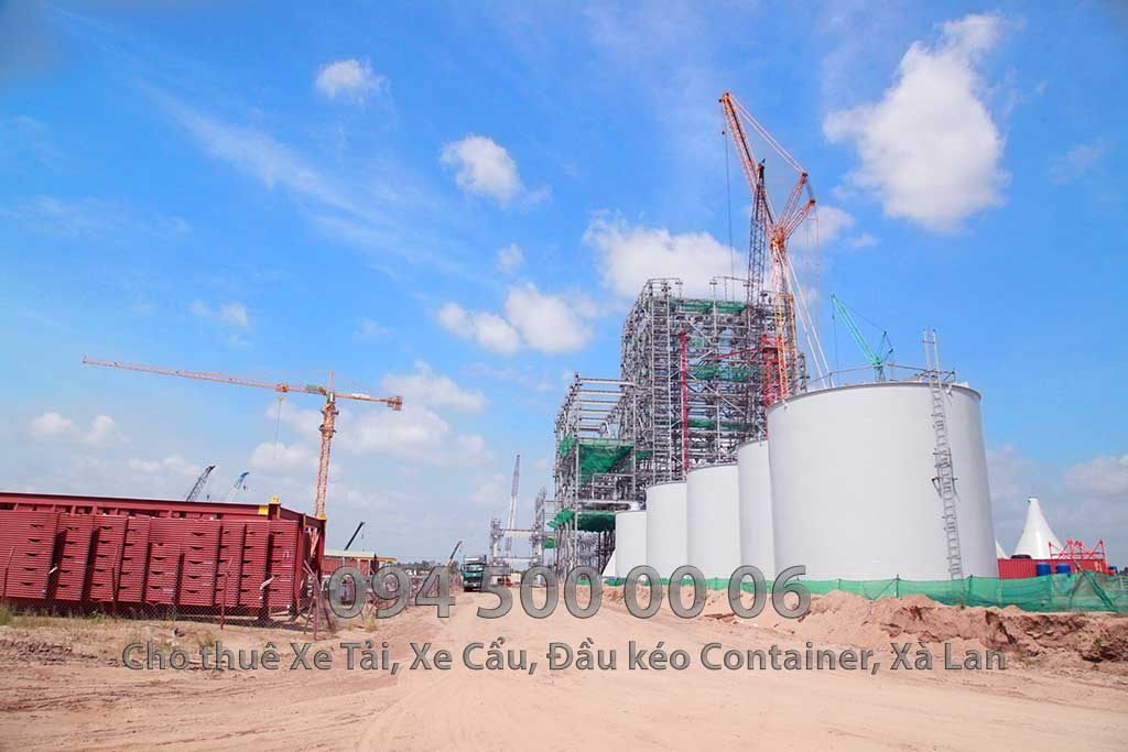 Dự án vận chuyển Thiết bị vật tư Công Trình Nhà Máy Nhiệt Điện Nam Sông Hậu Hậu Giang 9