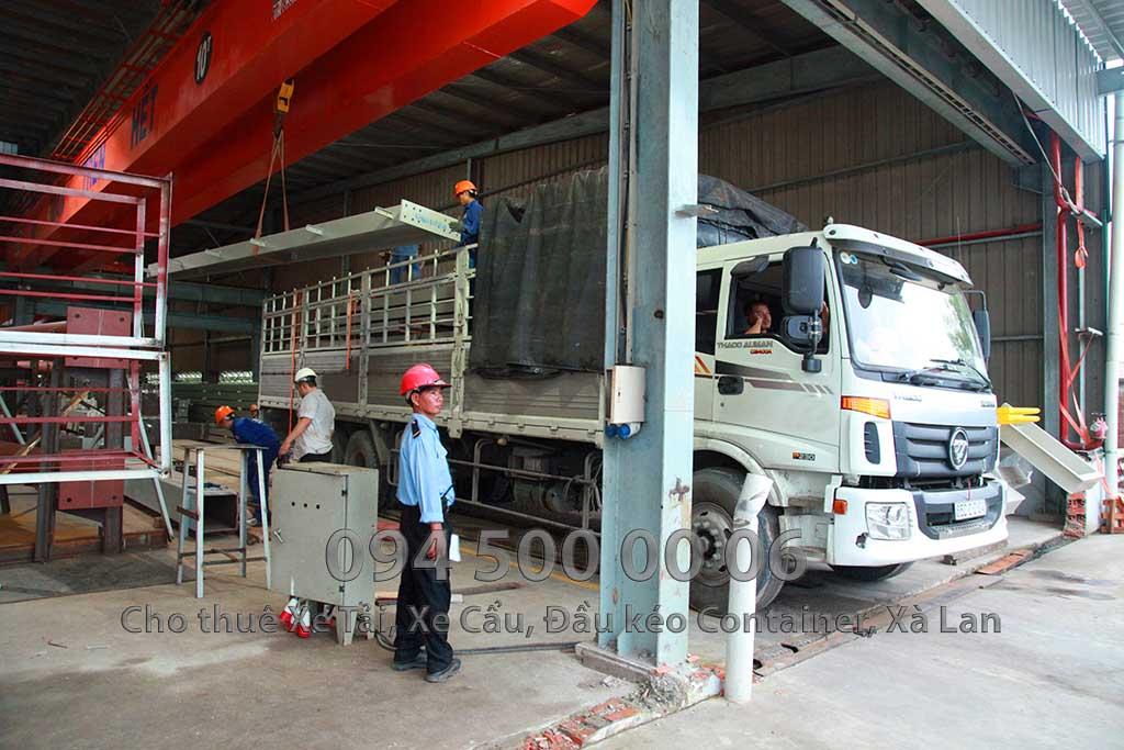Dự án vận chuyển kết cấu thép ATAD ra đảo Phú Quốc xây dựng công trình của MASAN PQ 11