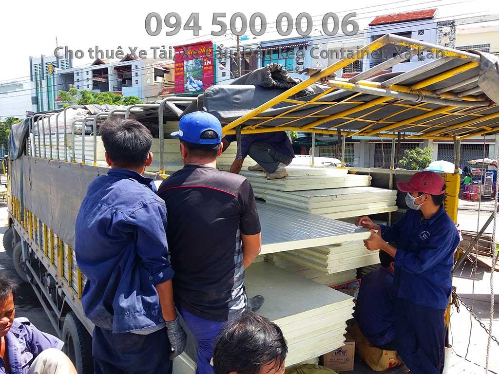 Dự án vận chuyển kết cấu thép ATAD ra đảo Phú Quốc xây dựng công trình của MASAN PQ 14