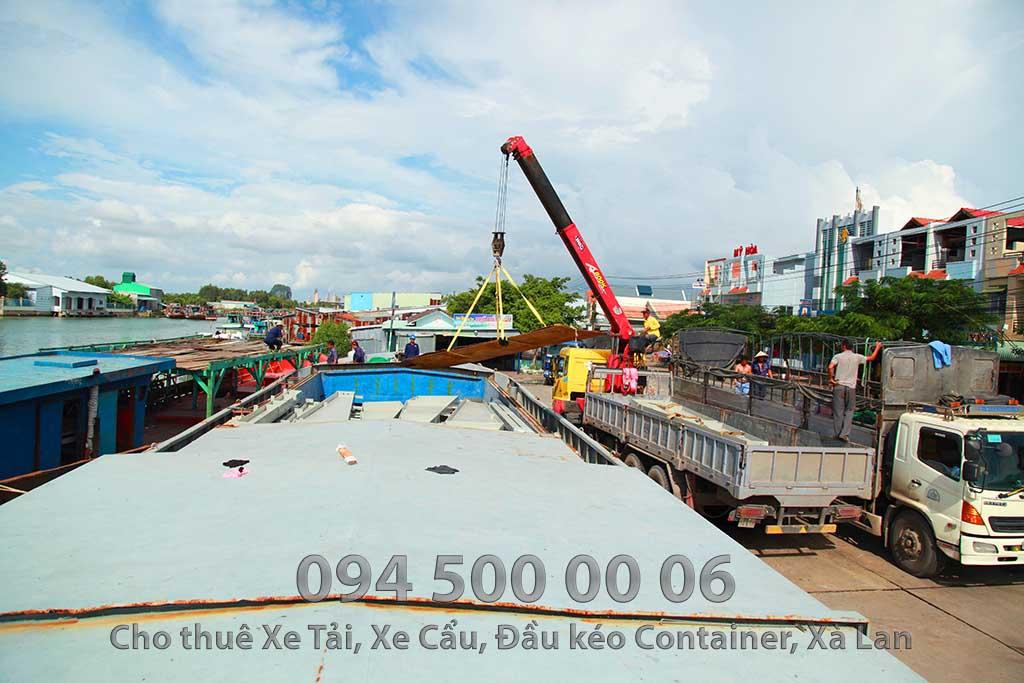 Dự án vận chuyển kết cấu thép ATAD ra đảo Phú Quốc xây dựng công trình của MASAN PQ 18