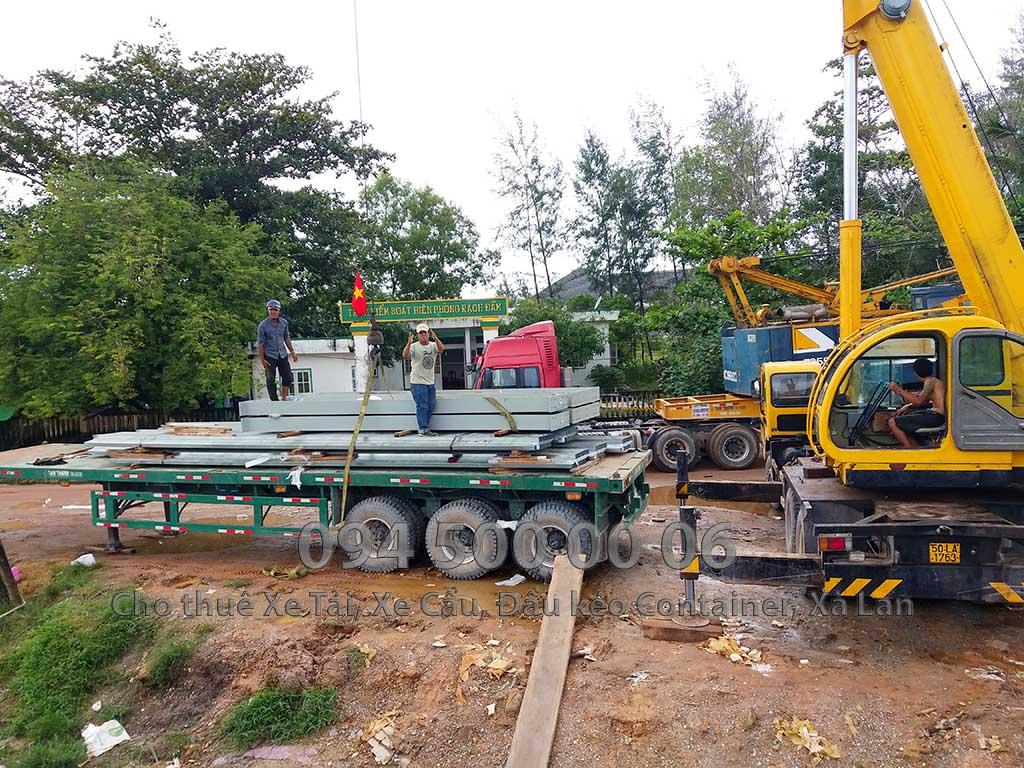 Dự án vận chuyển kết cấu thép ATAD ra đảo Phú Quốc xây dựng công trình của MASAN PQ 26