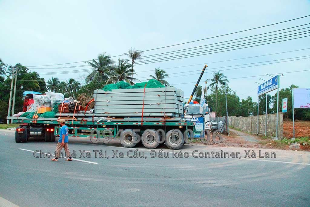 Dự án vận chuyển kết cấu thép ATAD ra đảo Phú Quốc xây dựng công trình của MASAN PQ 29