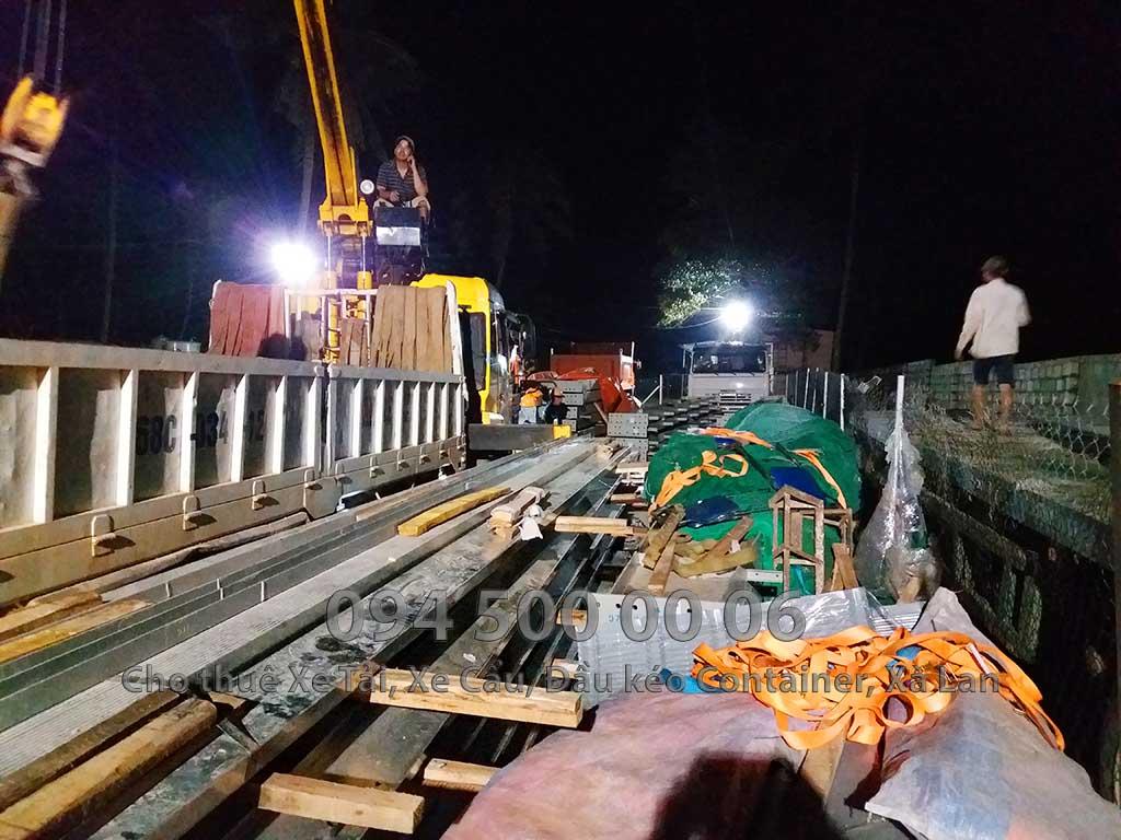 Dự án vận chuyển kết cấu thép ATAD ra đảo Phú Quốc xây dựng công trình của MASAN PQ 36