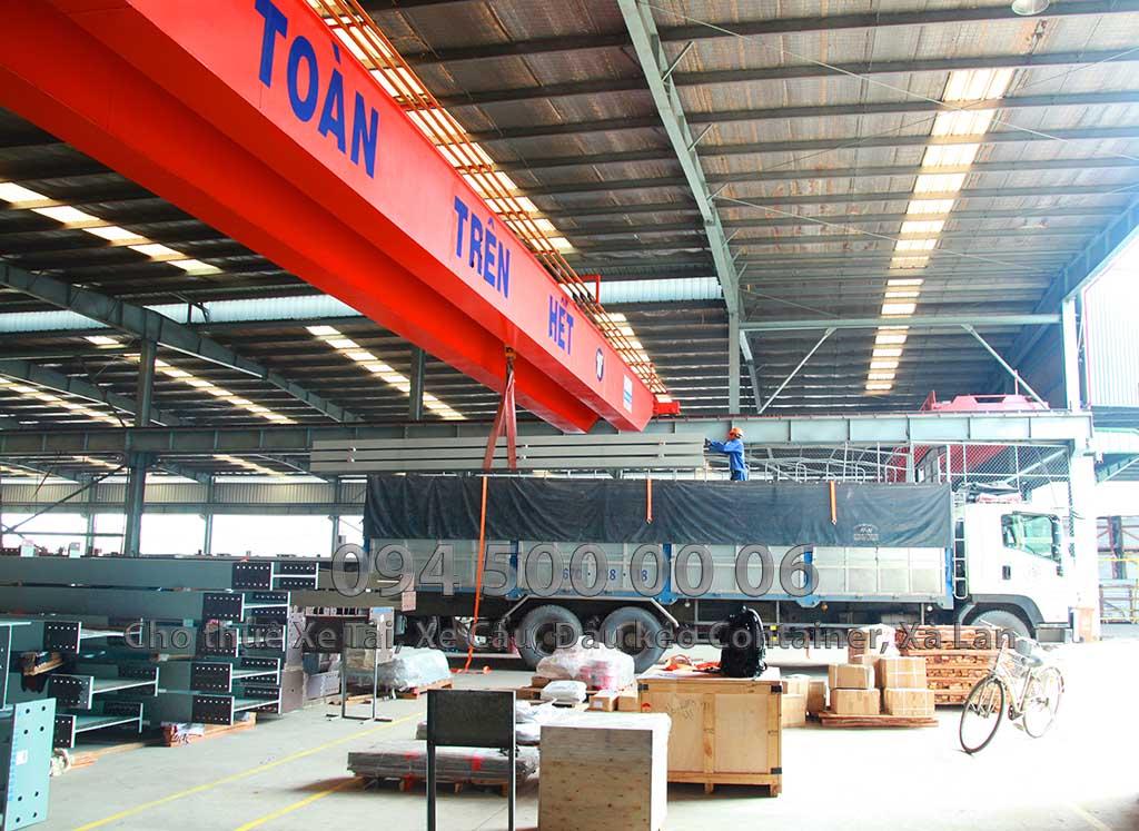 Công ty vận chuyển kết cấu thép đi Phú Quốc