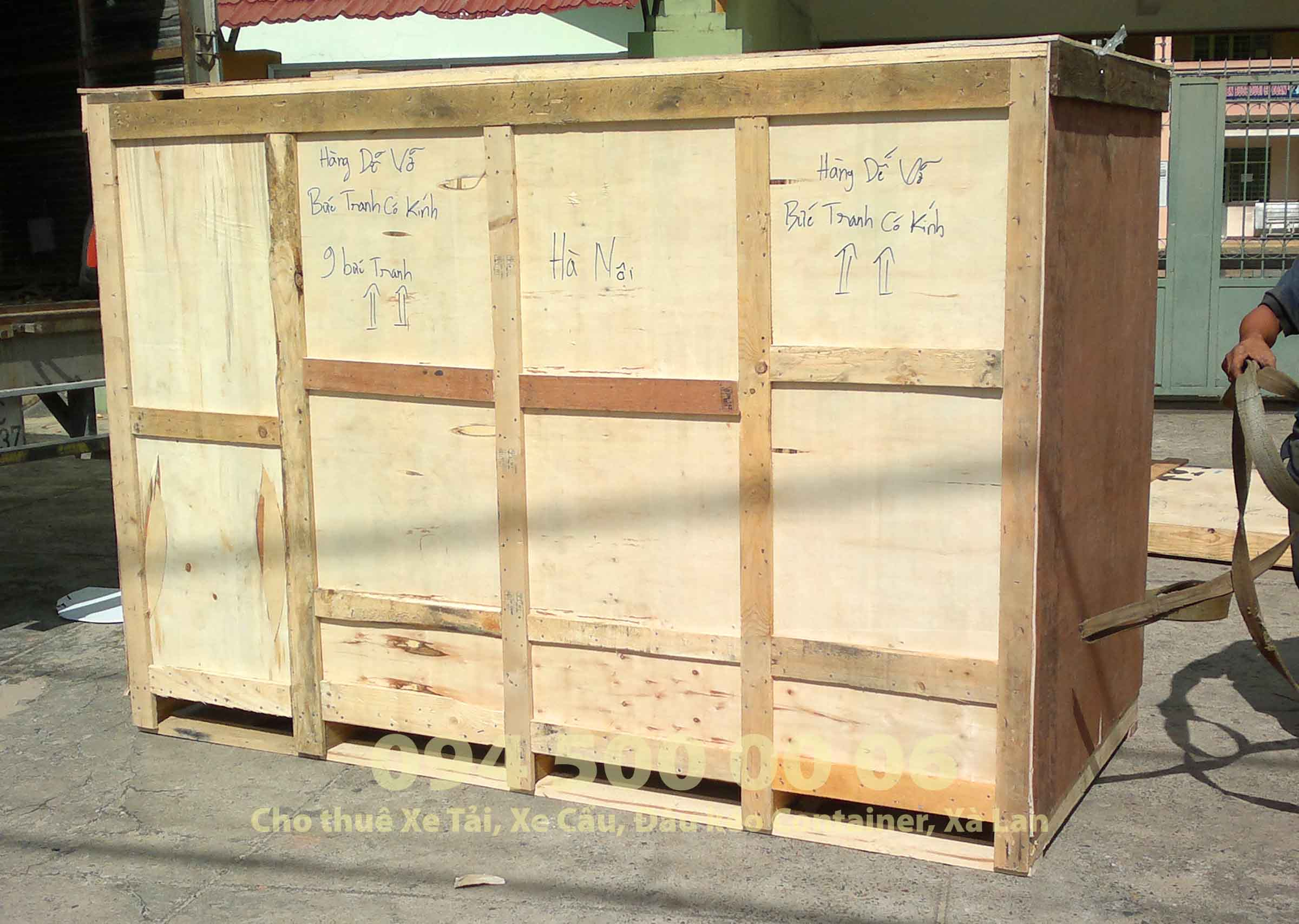 hướng dẫn chia sẽ kinh nghiệm đóng gói và vận chuyển nội thất đi đường bộ bằng xe tải 14