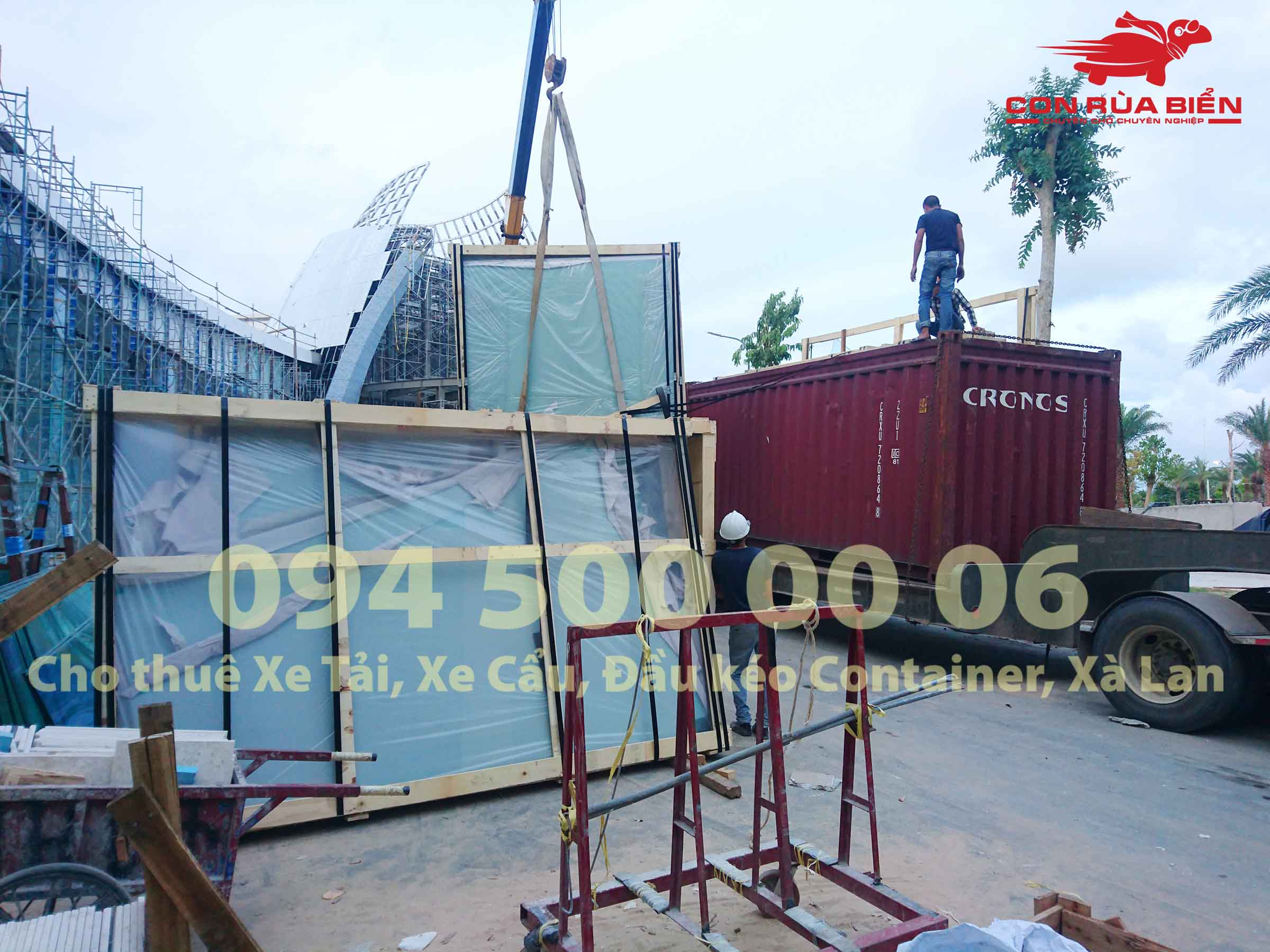 Dự án vận chuyển Kính Cường Lực HCM đi Casino Phú Quốc 22