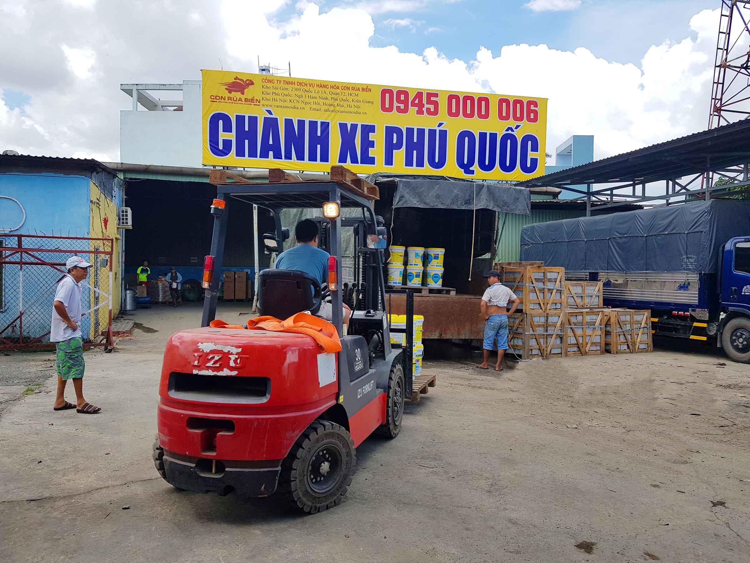 Du an Van chuyen hang Son Nuoc di Phu Quoc 1