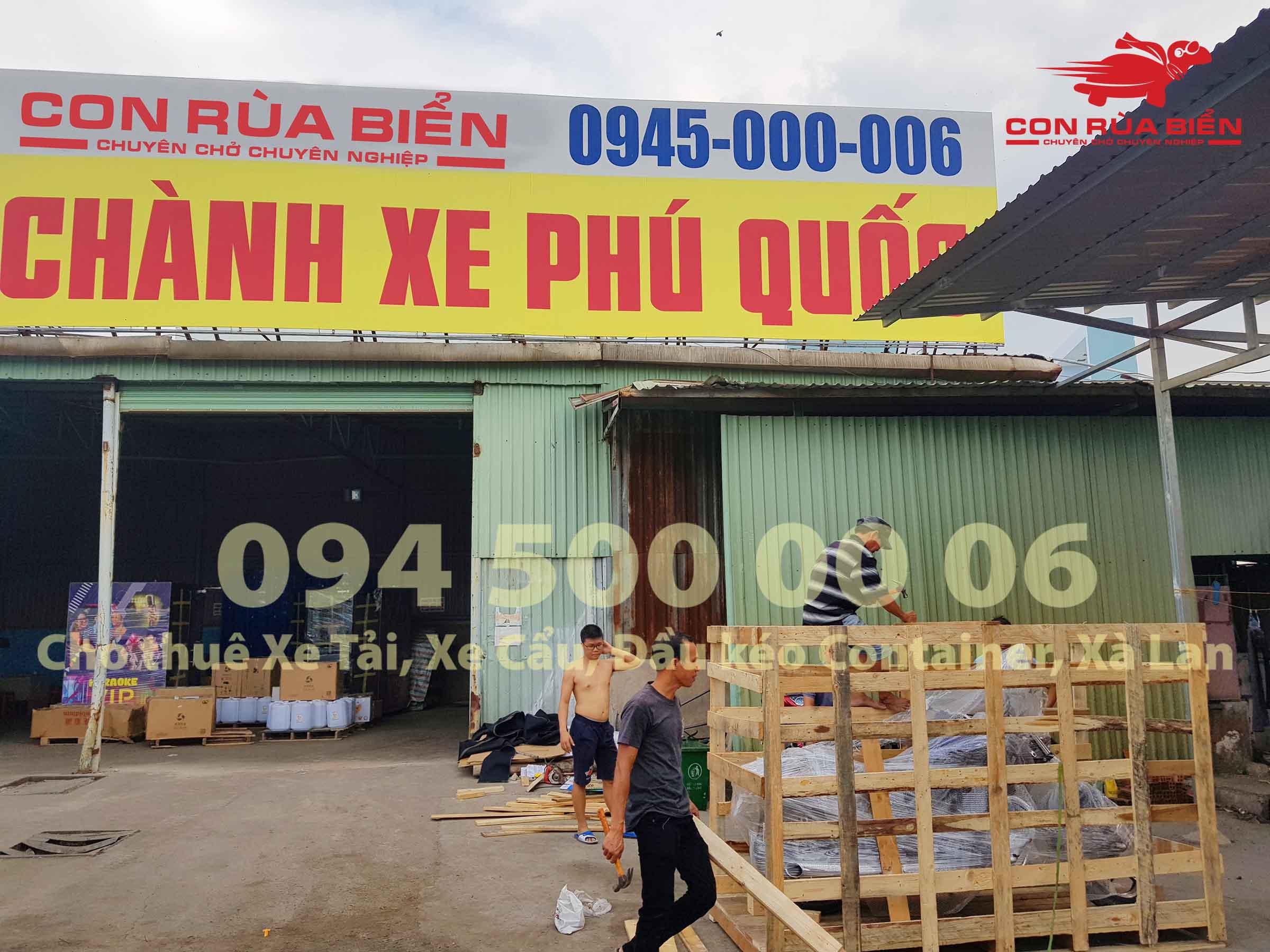 Du an Van chuyen xe may di Phu Quoc 15