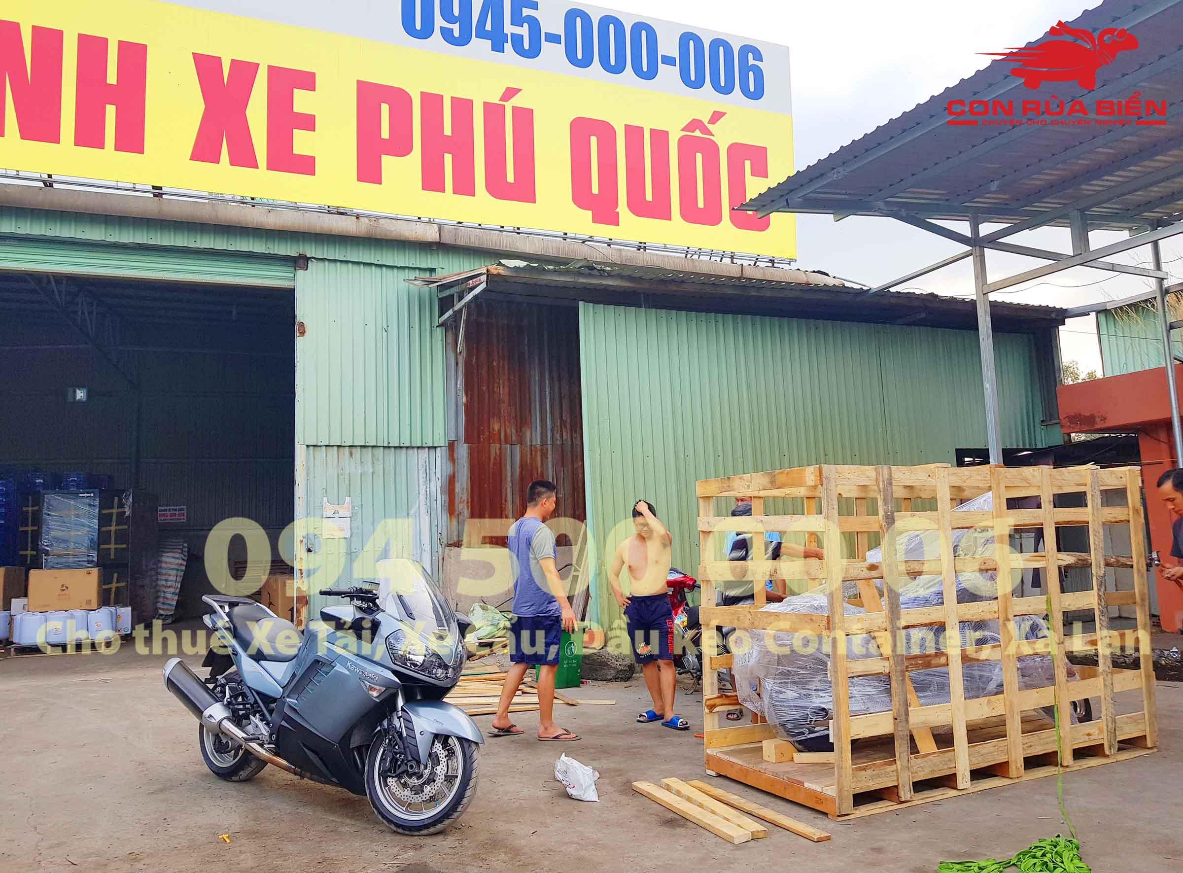 Du an Van chuyen xe may di Phu Quoc 16