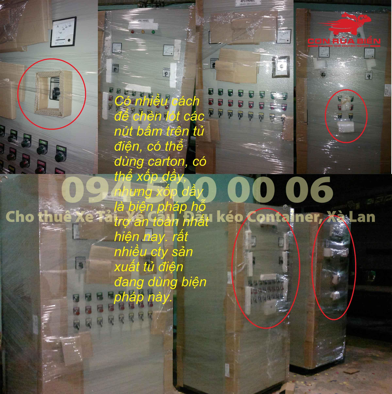 (Ảnh Hướng dẫn Vận chuyển tủ điện - tủ rack An Toàn Đảm Bảo tiết kiệm chi phí)