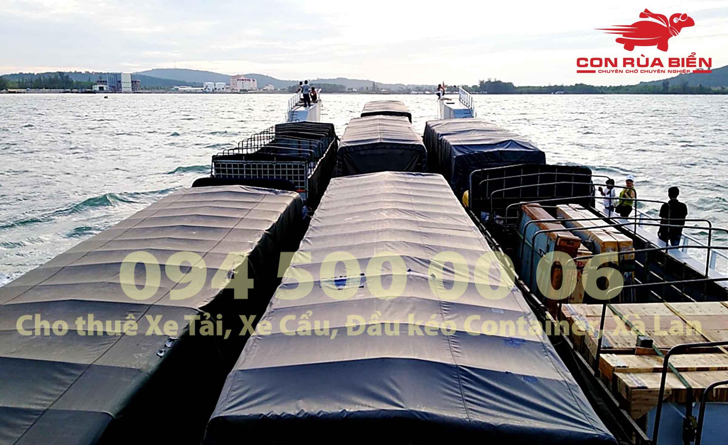 Cho thue Pha cho xe tai xe container di Hon Thom Phu Quoc 9