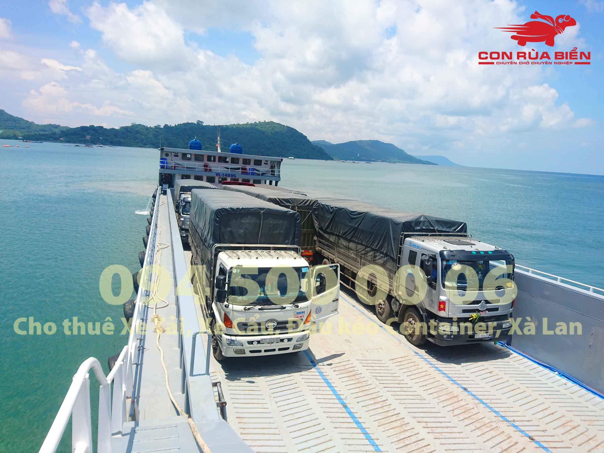 Cho thue xa lan cho xe dau keo container di Phu Quoc 12