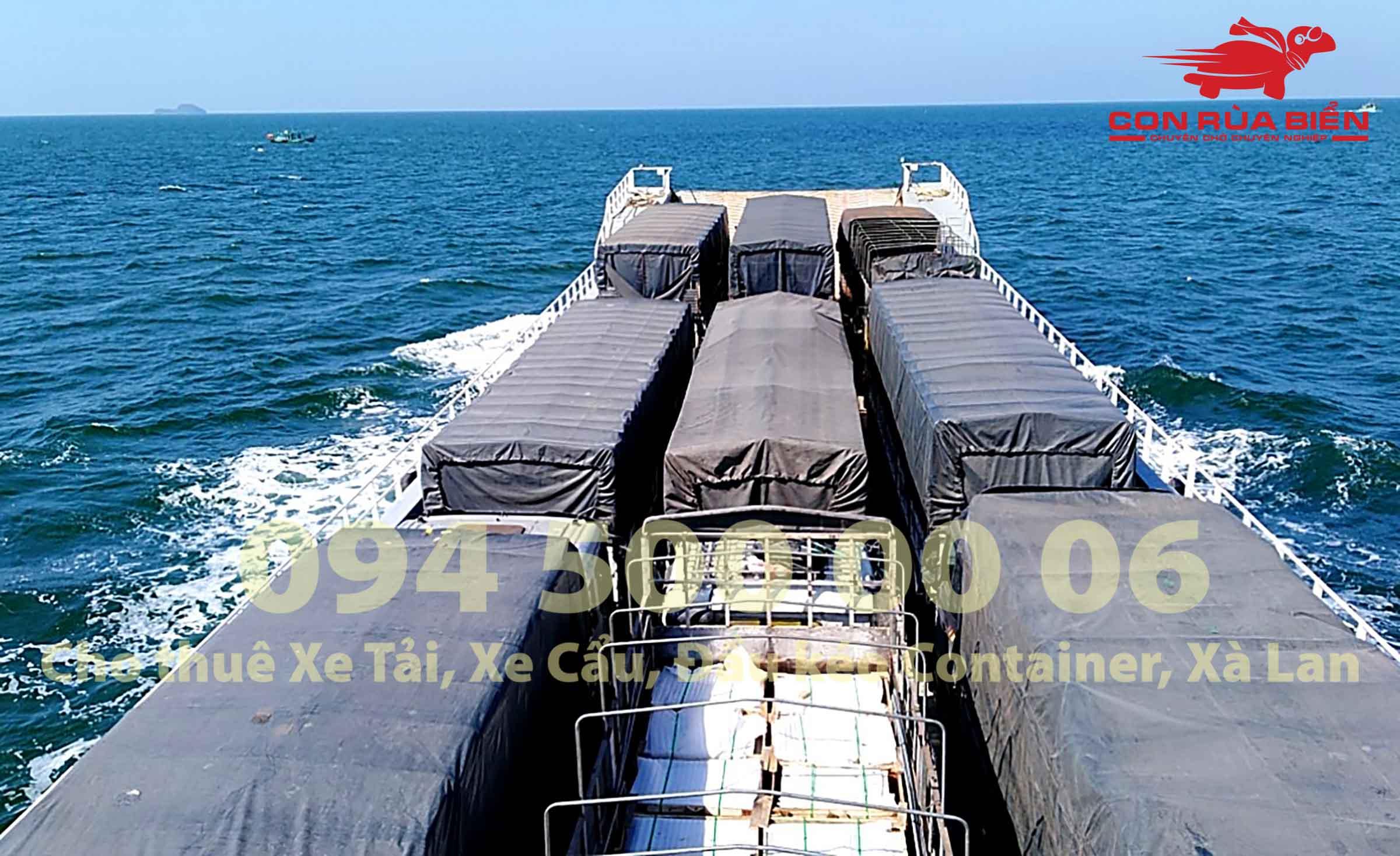 Cho thue xa lan cho xe dau keo container di Phu Quoc 4