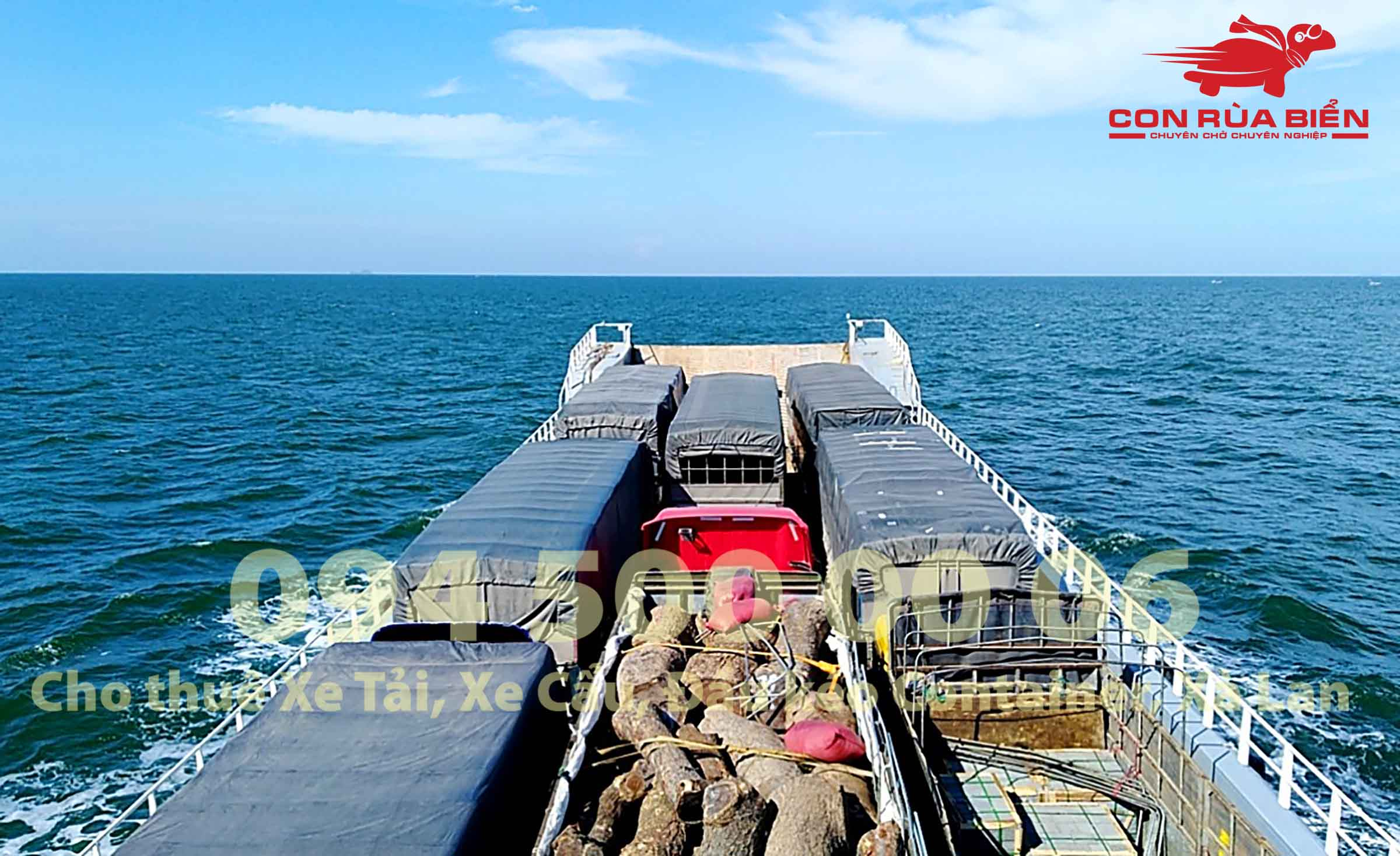 Cho thue xa lan cho xe dau keo container di Phu Quoc 7