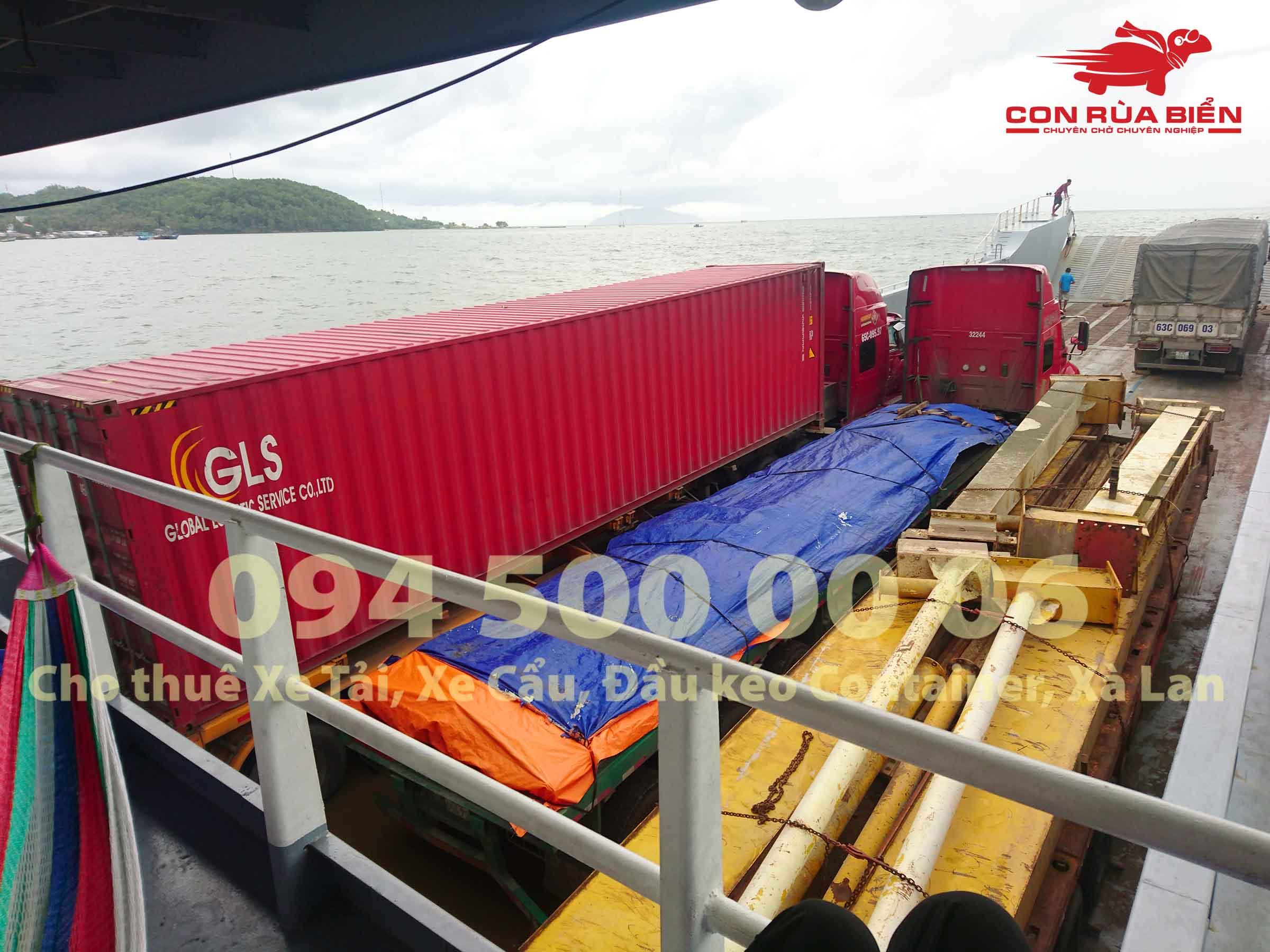 Cho thue xa lan cho xe dau keo container di Phu Quoc 8