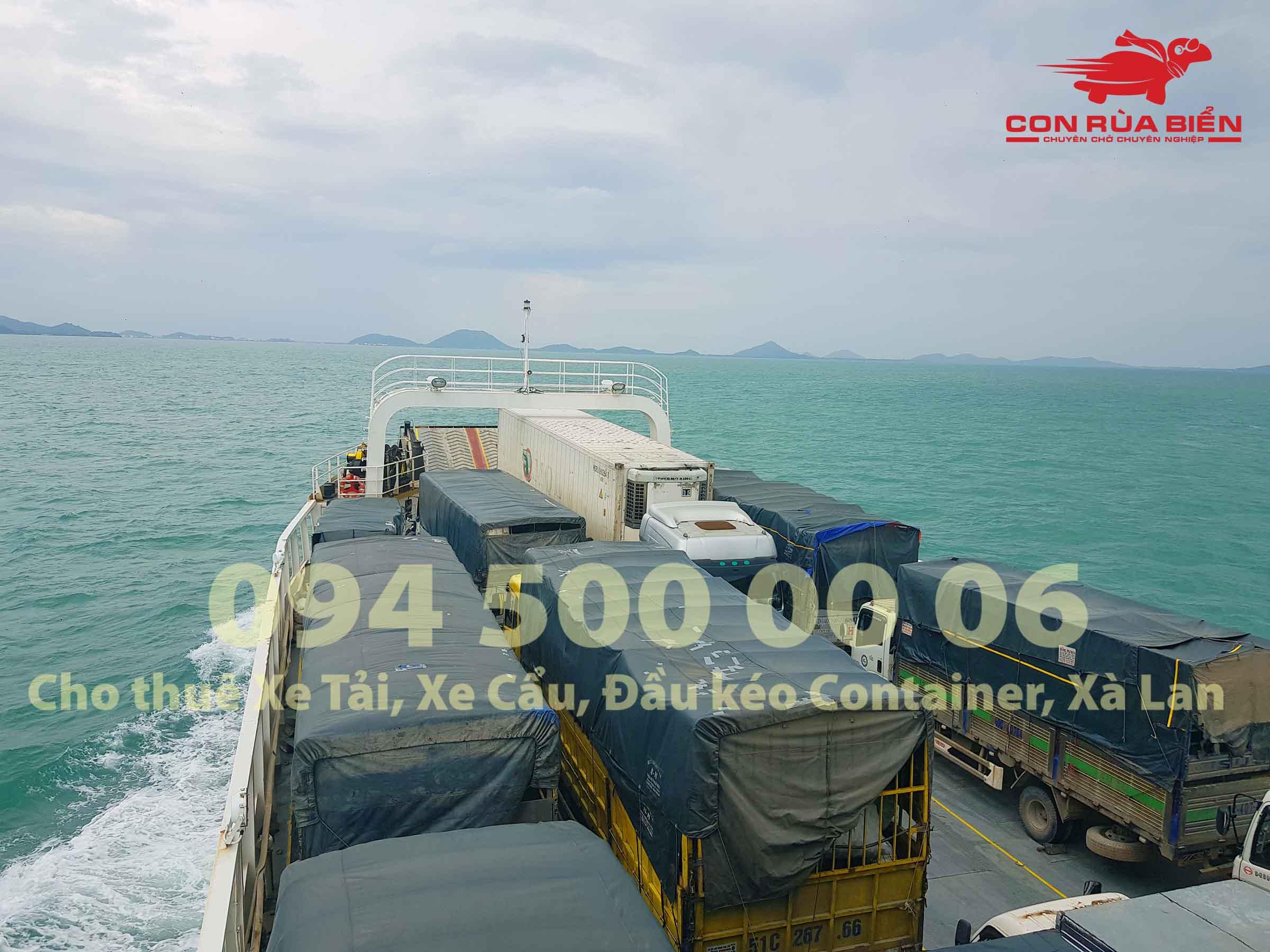 Cho thue xa lan cho xe dau keo container di Phu Quoc 9