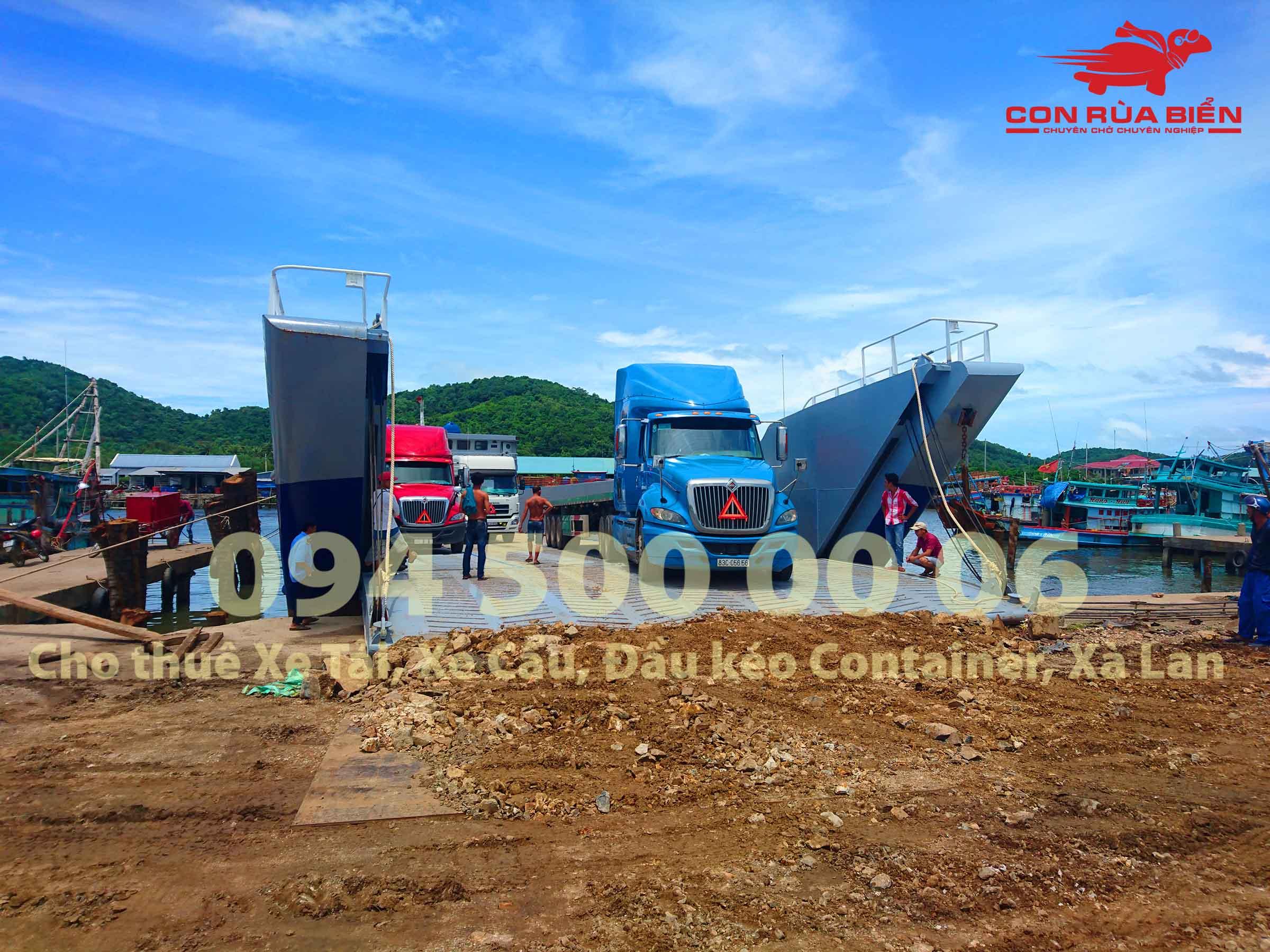 Cho thue xa lan cho xe tai di Phu Quoc 8