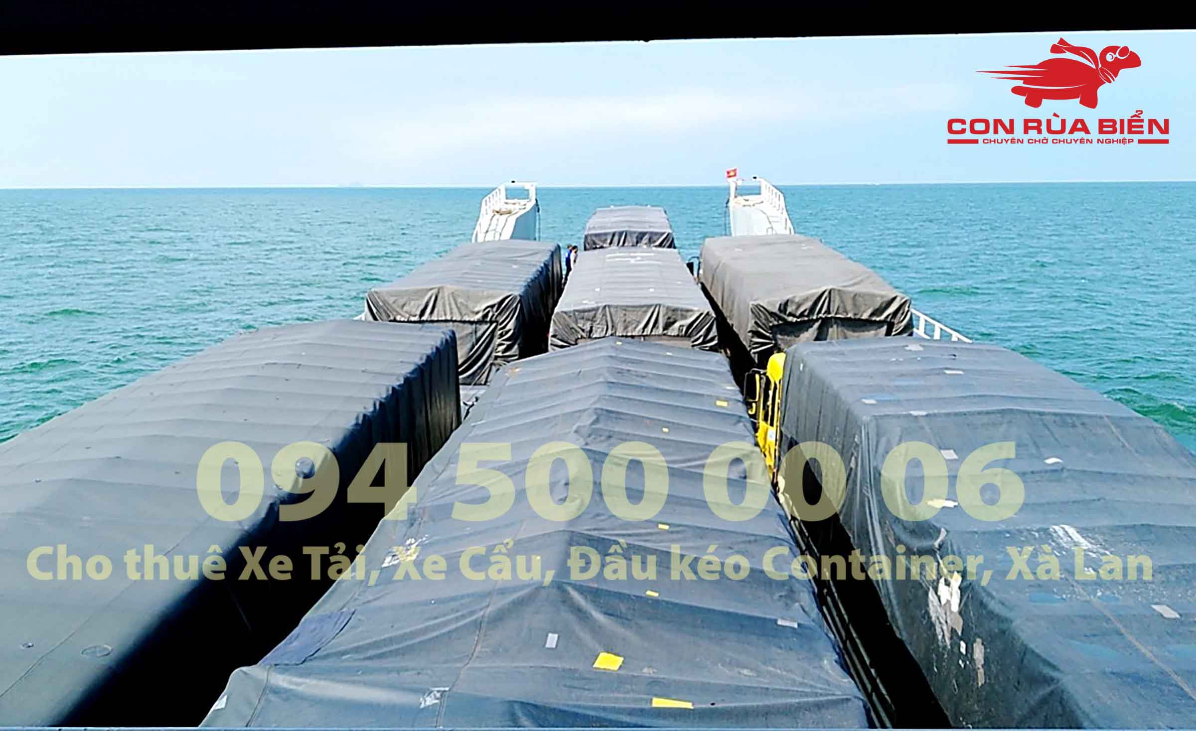 Cho thue xa lan ha mom cho xe tai cho xe dau keo container di Phu Quoc Hon Thom Nam Du 3