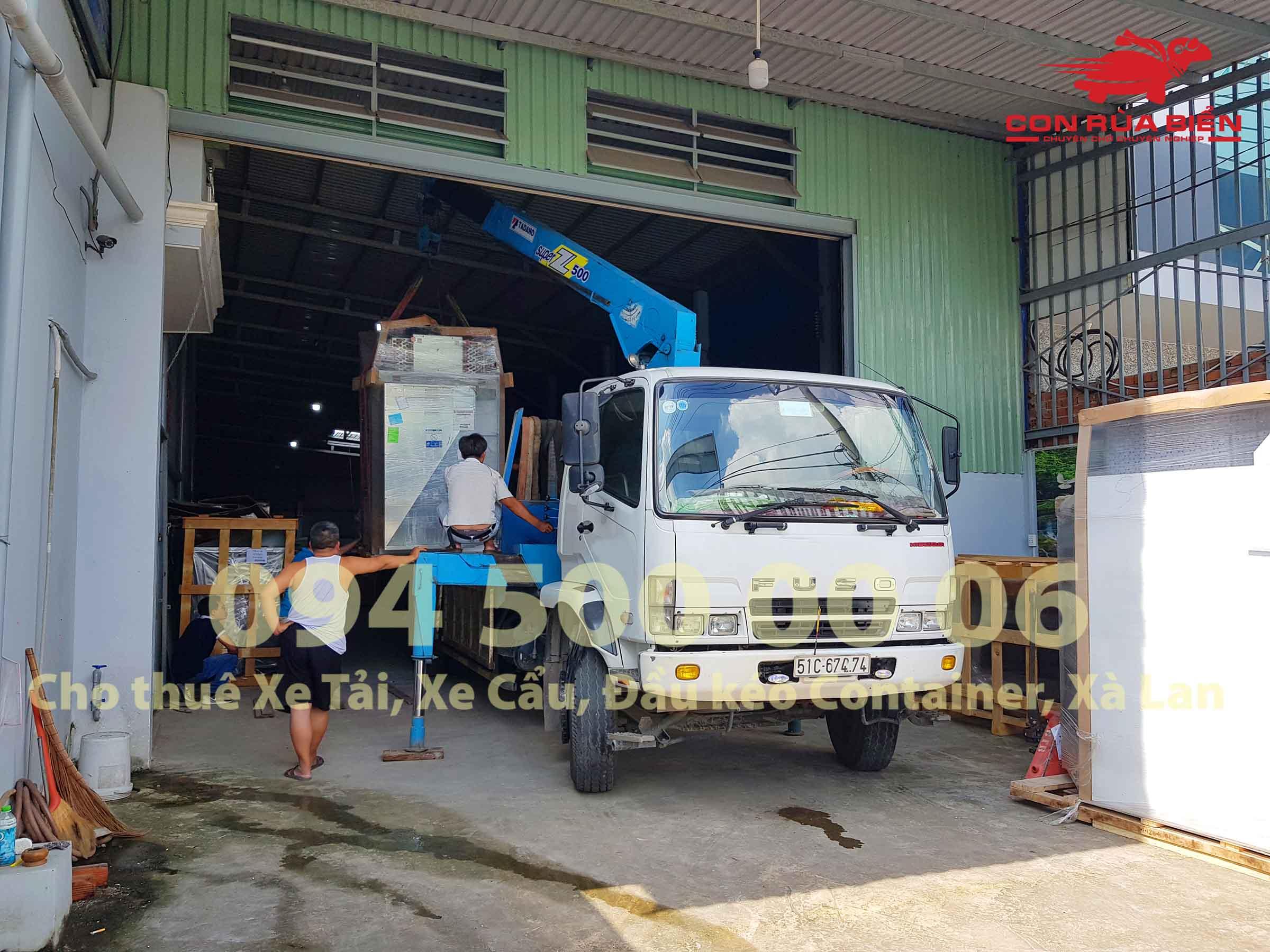 Du an Van chuyen May Giat Say Cong Nghiep di Phu Quoc 6