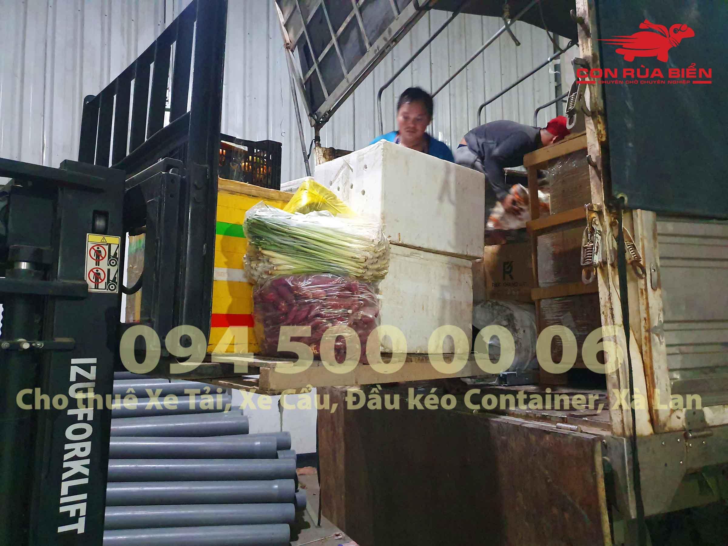 Vận chuyển hàng đông lạnh từ Phú Quốc đi Sài Gòn